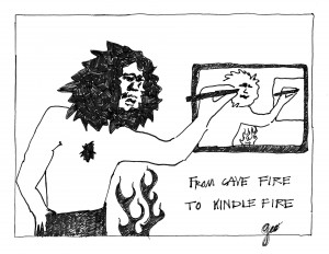 From cave fire to Kindle Fire (Source: Geo Davis)